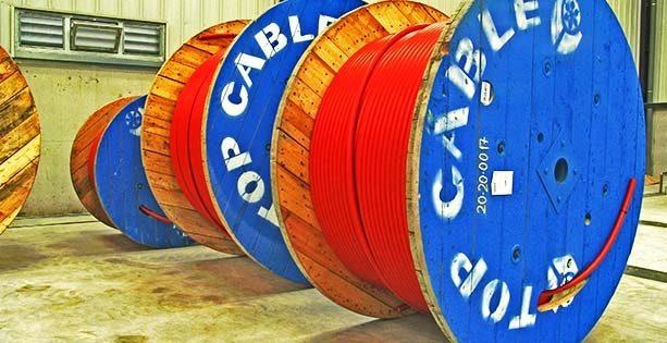 Bobina de cable de Media Tension