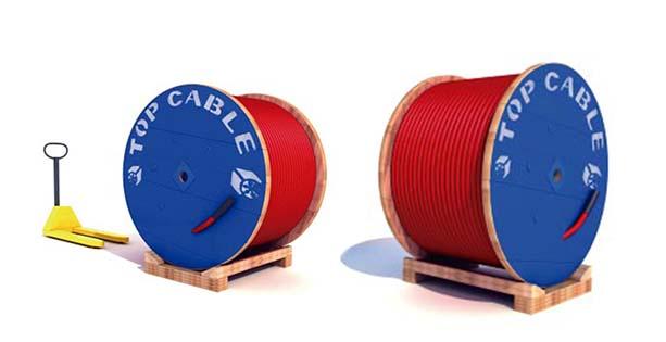 Manipulación bobina con puente grúa