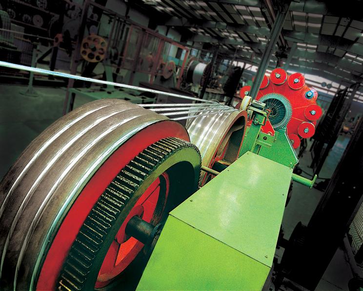 Maquinaria industrial fabricacion de cable electrico