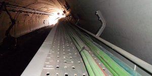 Instalacion subterranea de cables de baja tension