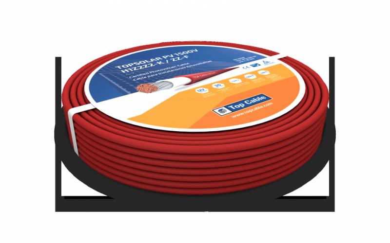 Rollo de cable TOPSOLAR PV ZZ-F / H1Z2Z2-K