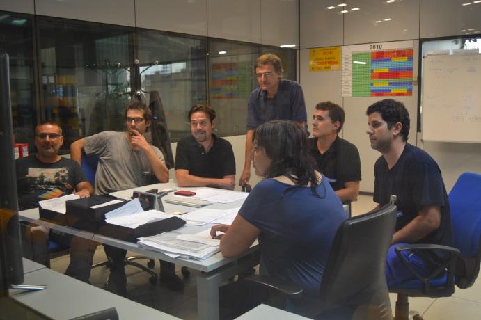 reunión de trabajo