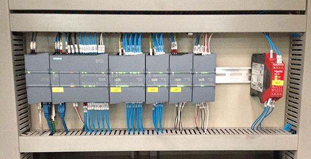 Elementos armario eléctrico