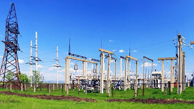 Instalación de distribución de energía de media tensión