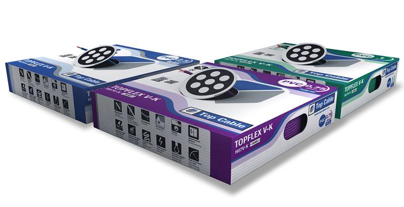 CABLE TOPFLEX V-K H05V-K & H07V-K de Top Cable