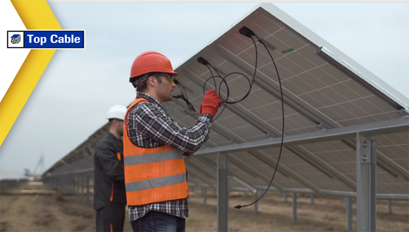 solar farm installation   cable H1Z2Z2-K