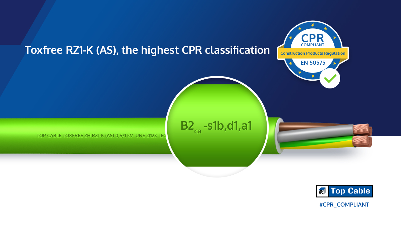 Top Cable First European Manufacturer To Obtain Cpr Certification