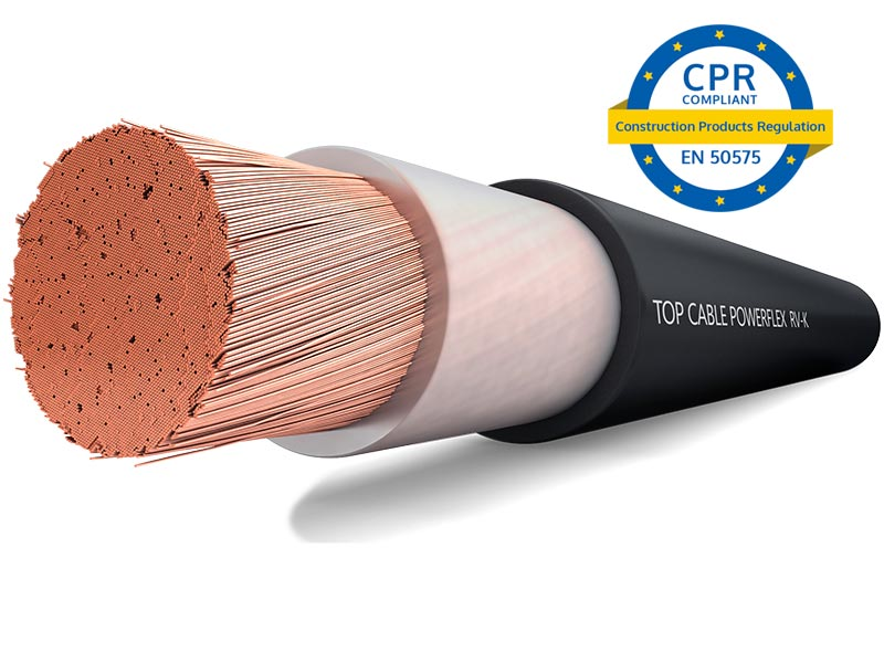 Cables CPR compliant | Top Cable