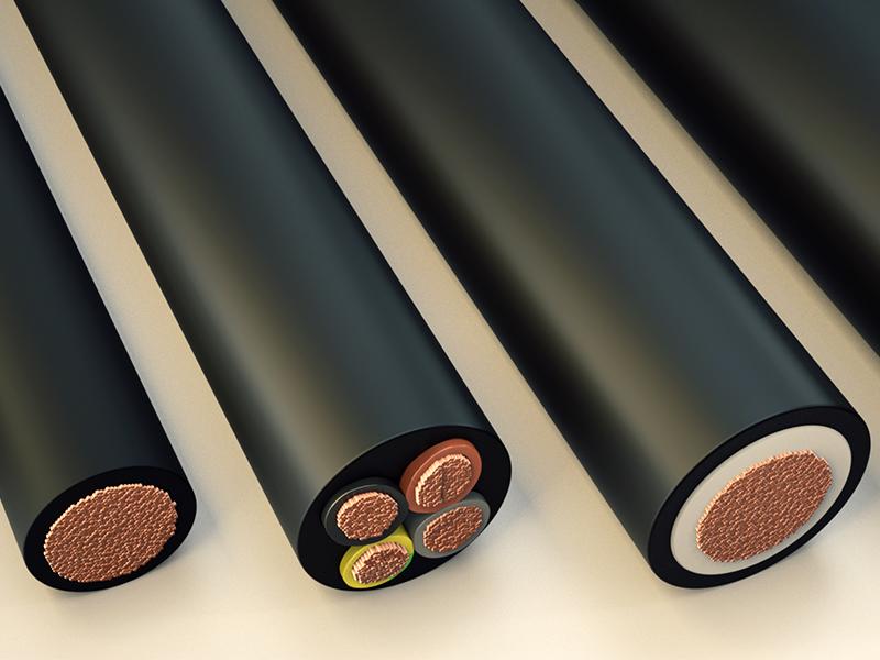 Avantatges dels cables de goma respecte als de PVC
