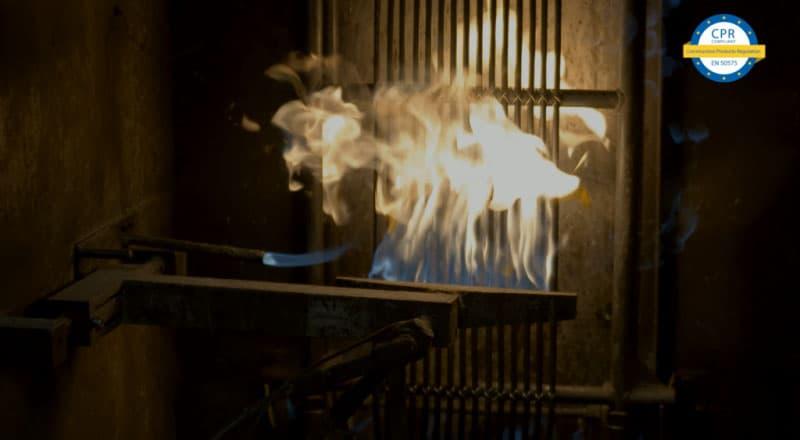 test resistencia al fuego cpr