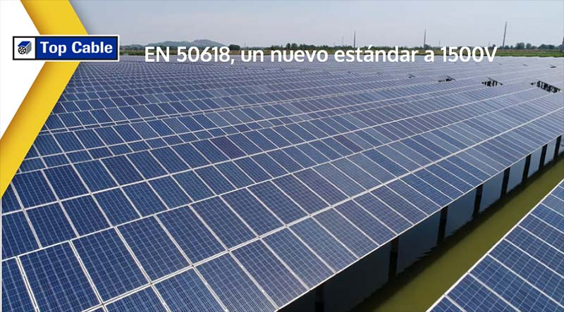 Solar cables 50618 Solar panels 1500v