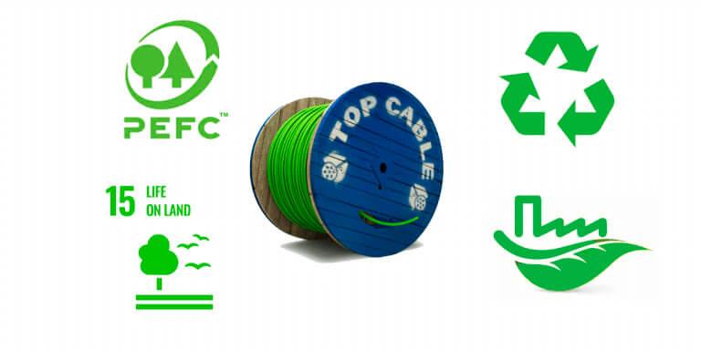 bobinas de madera con certificación PEFC™ es una certificación forestal