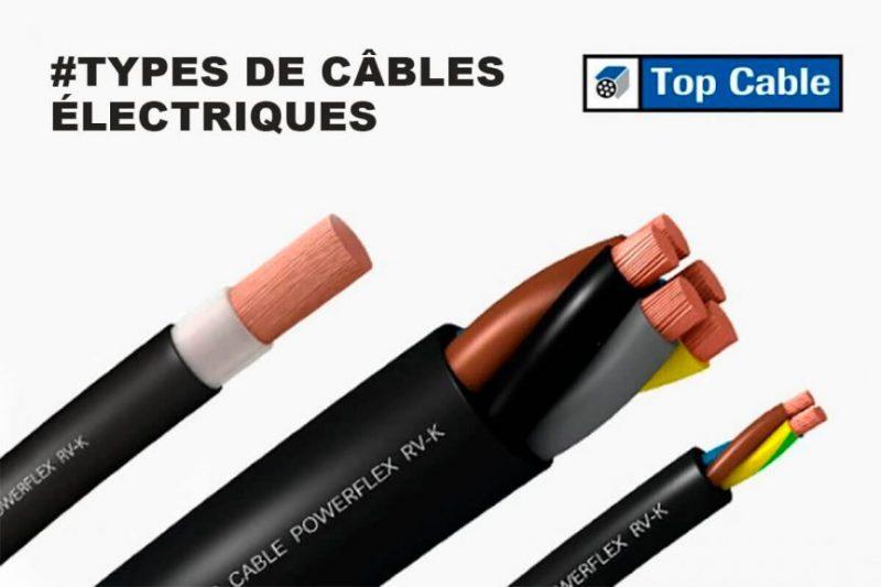 Types de câbles électriques