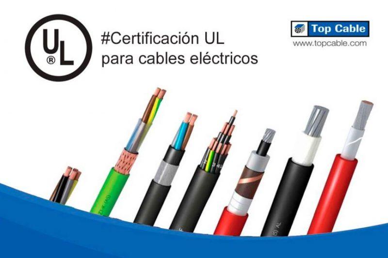 Certificación UL para cables eléctricos