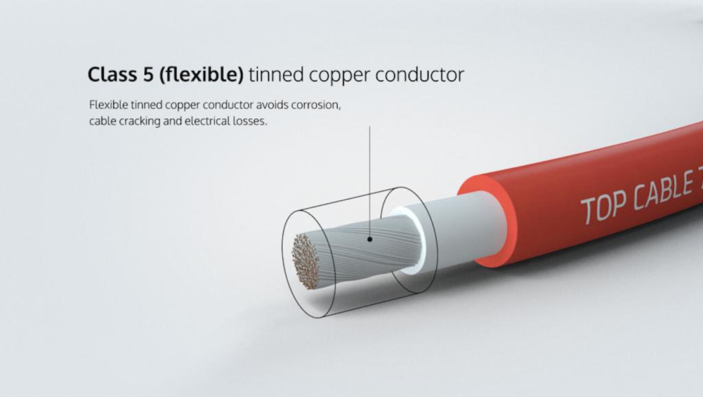 cable solar rollos 100 metros