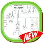 diagrama de cableado electrico de la casa logo
