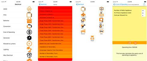 electrical formulator screenshots (1)
