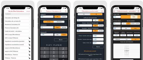ley de ohm calculadora screenshot