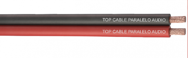 Double core parallel speaker cables