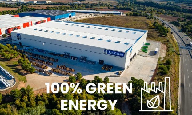 Top cable factory 100% green energy
