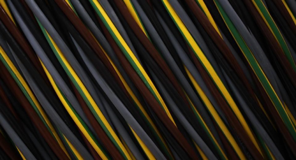 Cables encauchetados