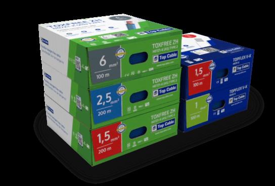 cajas cables eléctricos ecológicas