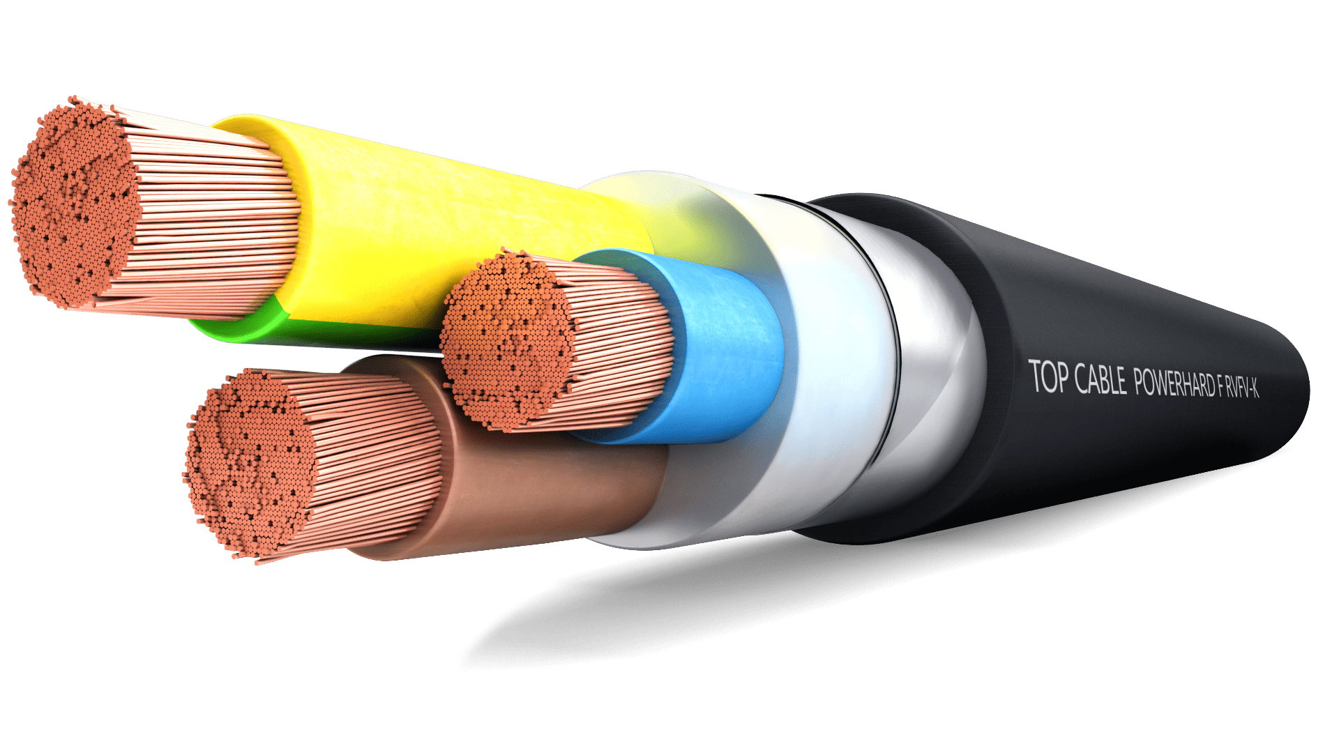 Powerhard F Rvfv K Armoured Cable Top Cable