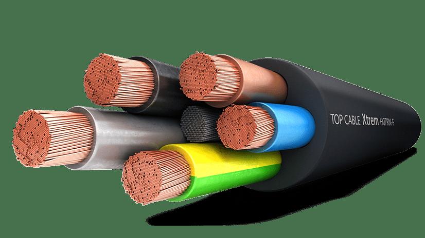 C 226 Ble De Caoutchouc Xtrem H07rn F Top Cable