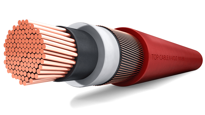 Medium Voltage Cable : Cable de media tensión volt mv top